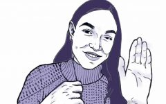Rep. Alexandria Ocasio-Cortez shared her experience at the Capitol insurrection over an Instagram Livestream on February 1, 2020. (Kyran Berlin / Golden Gate Xpress)