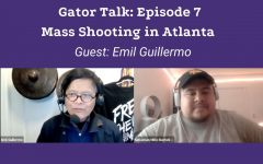 Asian American Legal Defense and Education Fund columnist and former SF State Professor, Emil Guillermo sat down with Gator Talk's host, Sebastian Miño-Bucheli to talk about the news from the Mass Shooting in Atlanta that targeted mostly AAPI people. (Sebastian Miño-Bucheli / Golden Gate Xpress)