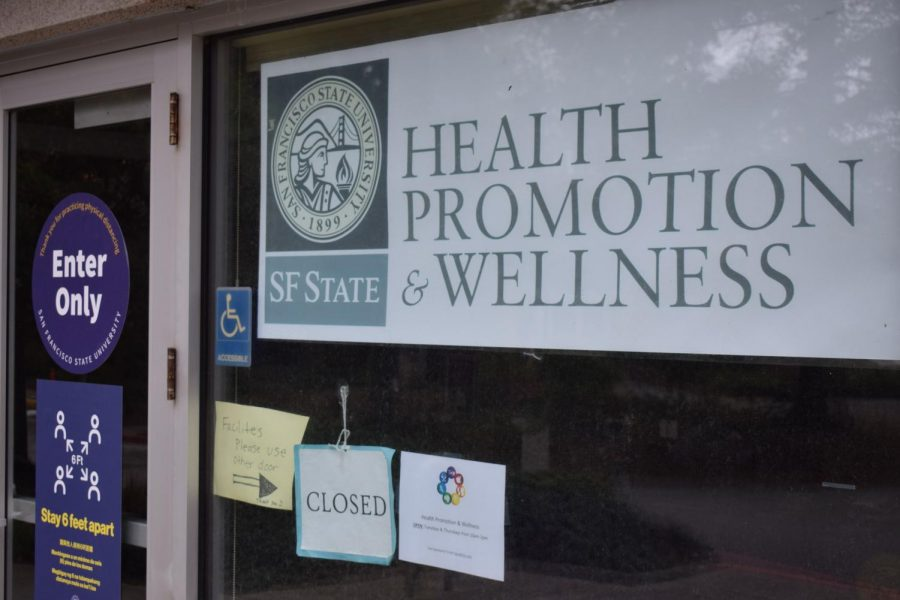 The Health Promotions and Wellness Center on campus. The center hosted on Thursday an event recognizing male survivors of sexual assault. (Lucky Whitburn-Thomas / Golden Gate Xpress)