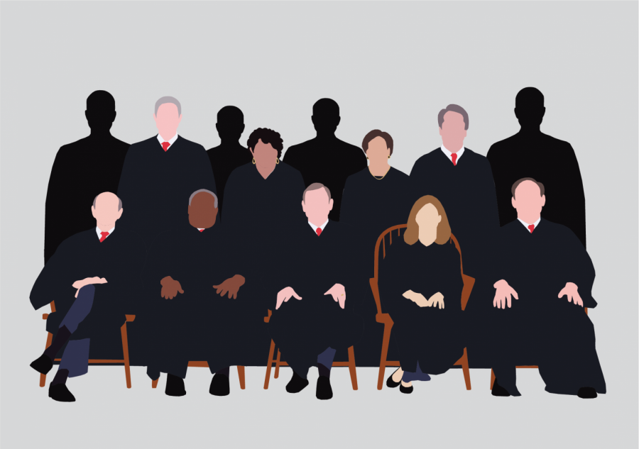 Supporters of Supreme Court expansion advocate for adding at least four seats to the high court in order to keep the judiciary bipartisan. (Lea Loeb / Golden Gate Xpress)