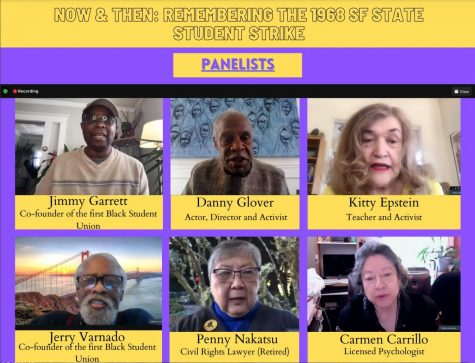 Six former strikers spoke in the virtual event about their experiences and the impact that strike made in their lives on May 3, 2021. (Sabita Shrestha / Golden Gate Xpress)