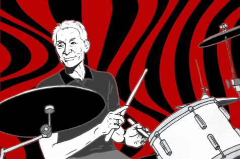 Charlie Watts, who died age 80 on Aug. 24, 2021, is remembered as the longtime drummer for the Rolling Stones. (Kyran Berlin / Golden Gate Xpress)